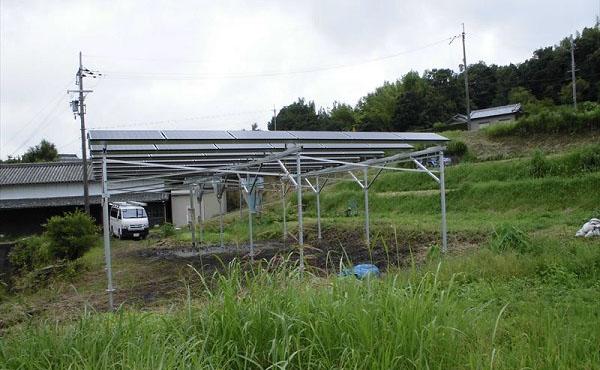 兵庫県洲本市ソーラーシェアリング