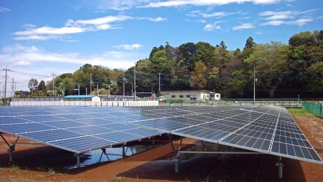 野立て太陽光発電